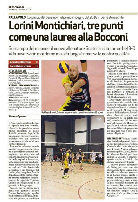 BresciaOggi 05.01.2018