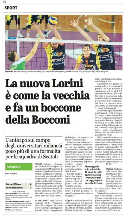 Giornale di Brescia 05.01.2018