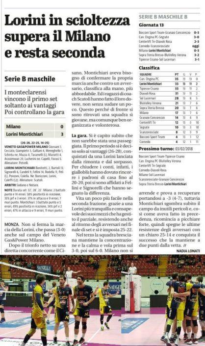 Giornale di Brescia 21.01.2018